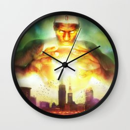 The Titan of Cleveland Wall Clock