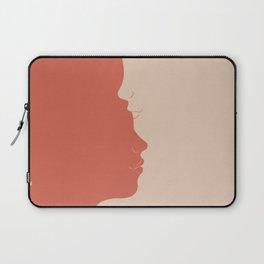 Yin Yang Kiss Laptop Sleeve