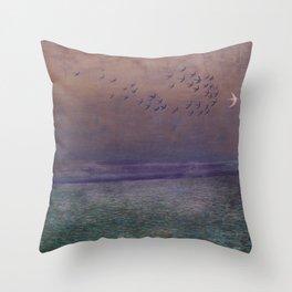 'under every deep a lower deep opens' Throw Pillow