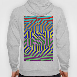 Best Abstract Art (80s Colors Background) Hoody
