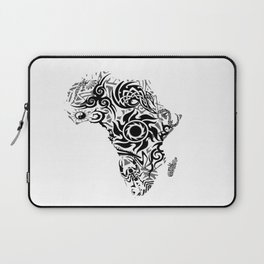 African Psychedelic Laptop Sleeve
