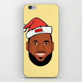 Lebron Christmas iPhone Skin