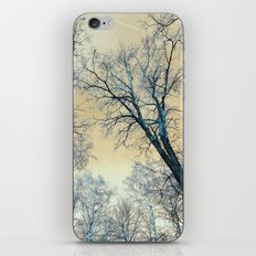 Trees nature infrared landscape iPhone & iPod Skin