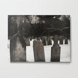 Revolutionary Cemetery Metal Print