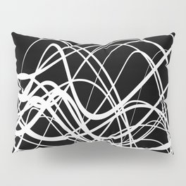 Intersecting Flow Pillow Sham