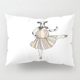 Cow Ballerina Tutu Pillow Sham
