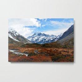New Zealand Autumn Metal Print
