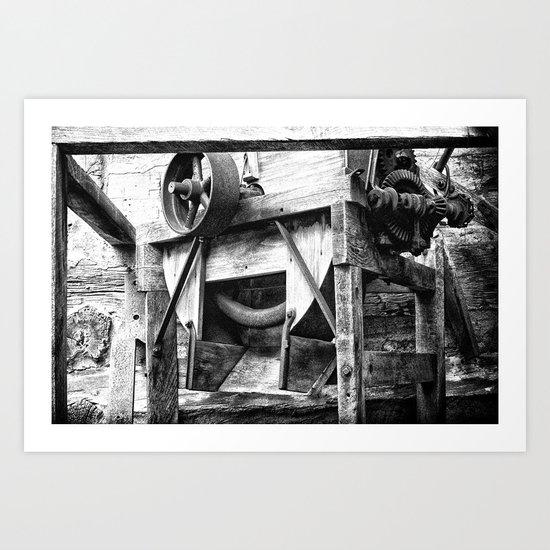 Machined Dream 06 Art Print