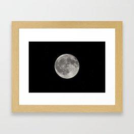 Full Moon. Today Framed Art Print