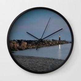 Jetty Wall Clock