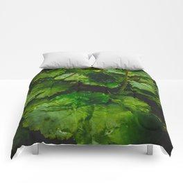 Wet Greens Comforters