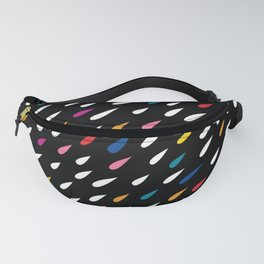 Bright Droplets Fanny Pack