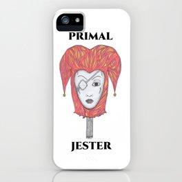 PRIMAL JESTER iPhone Case
