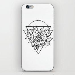 Crown Of Thorns - B&W iPhone Skin