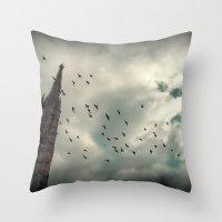 vienna Throw Pillows featuring Vienna 04 by Mi Nu Ra