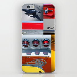 Classic Car Collage iPhone Skin