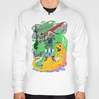 jake Hoodies featuring Finn & Jake by Rob S