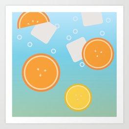 Fruity Drink Art Print