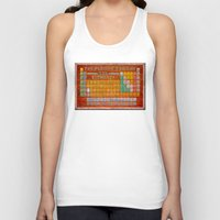 periodic table Tank Tops featuring Vintage Industrial Periodic Table Of The Elements by Mark E Tisdale