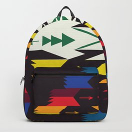 American Native Pattern No. 129 Backpack