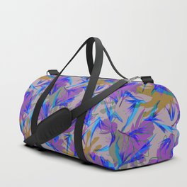 Bird of Paradise and Cosmos Duffle Bag