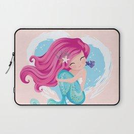 Cute mermaid illustration Laptop Sleeve