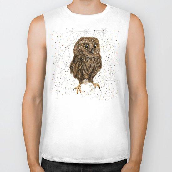 Mr.Owl IV Biker Tank