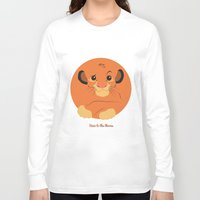simba Long Sleeve T-shirts featuring Heir to the throne by eqbal