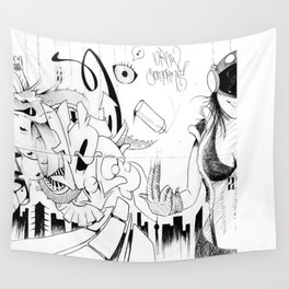 Draw Something Wall Tapestry