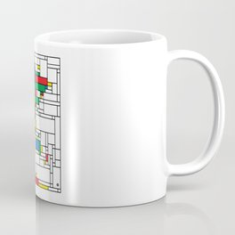World Map - Modern Coffee Mug