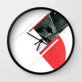 Tribute to Rodchenko Wall Clock