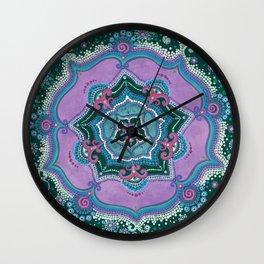 Nini's Mandala Wall Clock