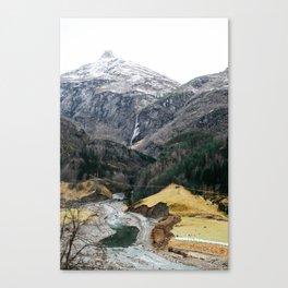 Oslo ⇒ Flåm Canvas Print