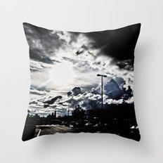Another Summer Storm Throw Pillow