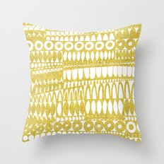 Golden Doodle Oooohh Throw Pillow
