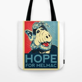 Hope For Melmac, Obama Yes We Can Parody With Alf Alien, Original Design T-Shirt, tshirt, tee, jerse Tote Bag
