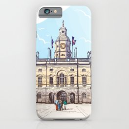 Color Sketch from London 05 iPhone Case