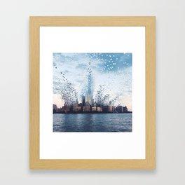 Citiescape Framed Art Print