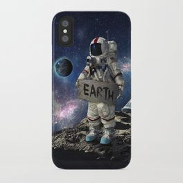 Stuck in Space iPhone Case