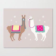 Drama Llama Canvas Print