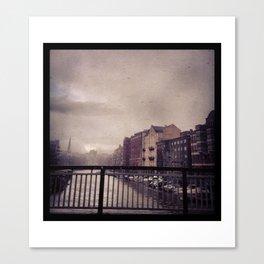 Stille Canvas Print