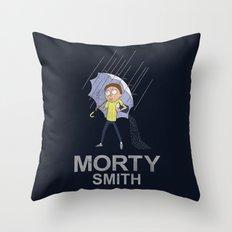 Morty's Salt Throw Pillow