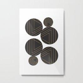 Abstract Geometry #society6 #decor #buyart Metal Print