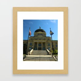 Montana State Capitol Framed Art Print