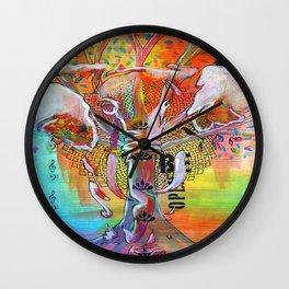 Elephant Song Wall Clock