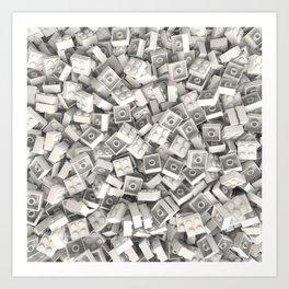 LEGO Bricks Art Print