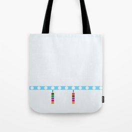 Blue Line - Damen Tote Bag