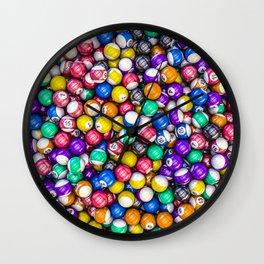 Poolhall Junkies Wall Clock