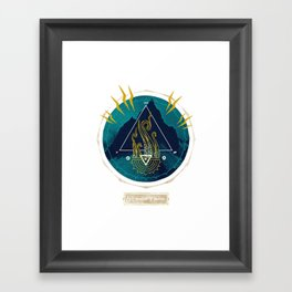 The Mountain o Madness Framed Art Print