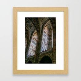Albi Cathedral, Albi,Languedoc, France. Framed Art Print